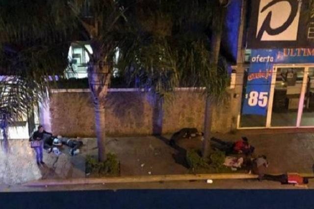 Comando irrumpe en funeraria de Uruapan y mata a 7 personas
