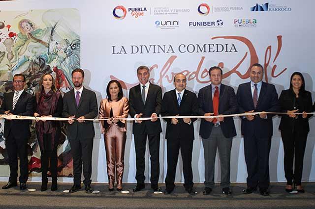 Inaugura Gali exposición: La Divina Comedia, Salvador Dalí