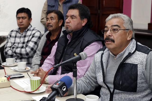 Muere Antonio Ordaz, líder de vendedores informales en Puebla