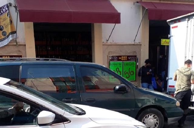 En Atlixco supermercados acatan ley seca, comercio local no