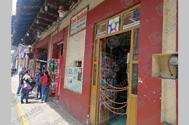 Incertidumbre por regreso a clases afecta a comercio de Zacapoaxtla