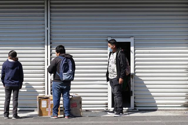 Comerciantes de Puebla abren el 15 de junio aún con semáforo rojo