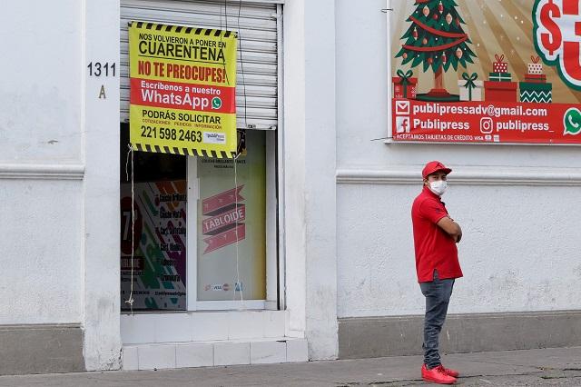 Entre críticas, avalan 15 mdp para ambulantes y comercio en Puebla