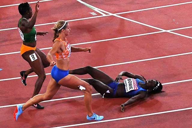 Comida contaminada enferma a deportistas en Mundial de Atletismo