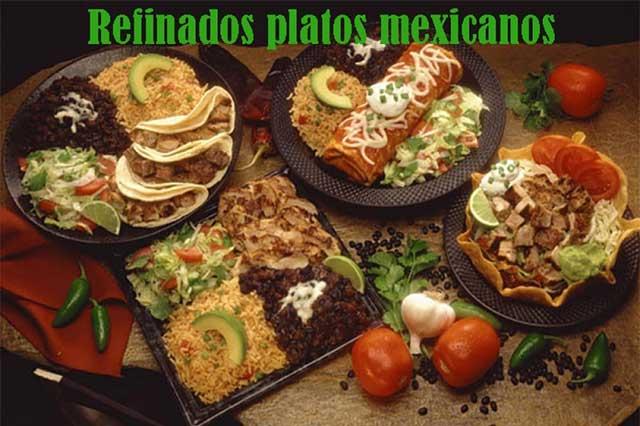 Comida mexicana, sencilla y gourmet