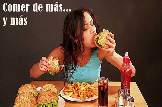 Comer demasiado nos puede provocar una adicción