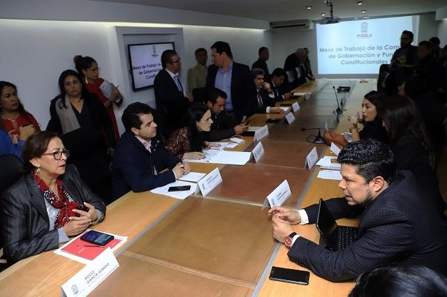 Avanza con candados ley para la revocación de mandato en Puebla