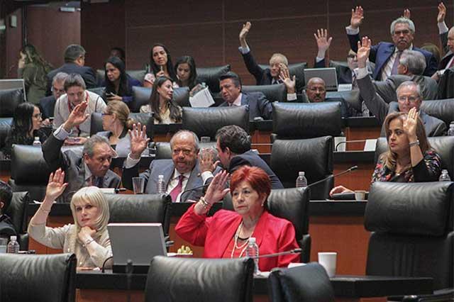 Turnan a comisiones observaciones del Ejecutivo a Ley 3de3