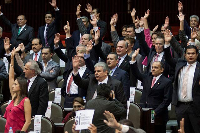 Se impone el PRI en San Lázaro y presidirá 23 de 56 comisiones