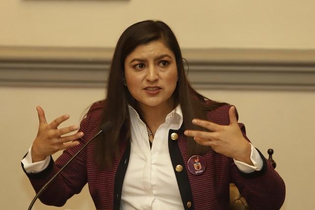 Claudia Rivera no confirma si habrá cambio en la SSC