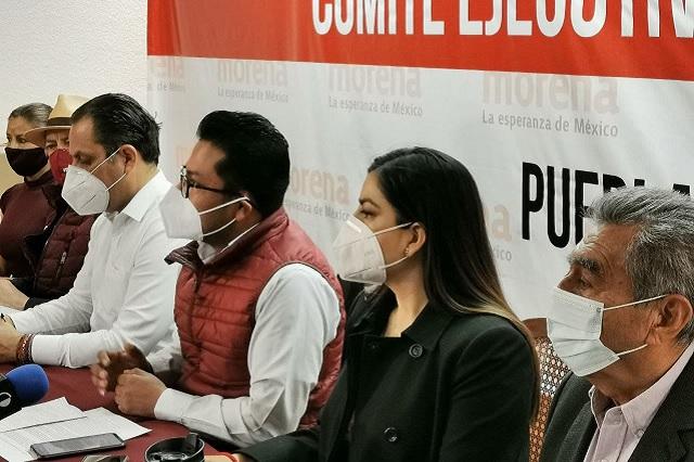 Claudia Rivera participa en mesa por la unidad electoral en Morena