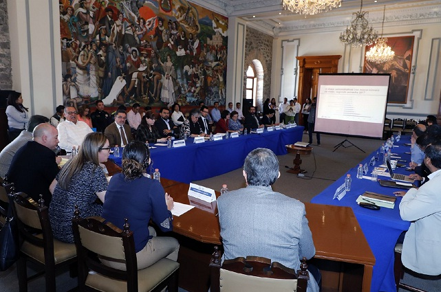 Instalan Comité de Movilidad y Sustentabilidad en Puebla capital