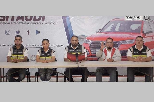 Acusaciones al líder saliente, destacan en campaña por sindicato de Audi