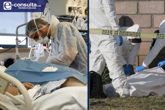Muertes por Covid triplican asesinatos de 4 meses en Puebla