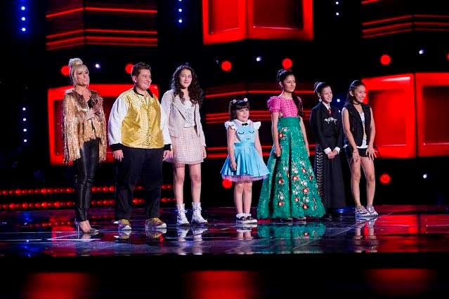 Sara, Mariana, Deylan, Ildikó, Leslie y Eduardo, los finalistas de La Voz Kids