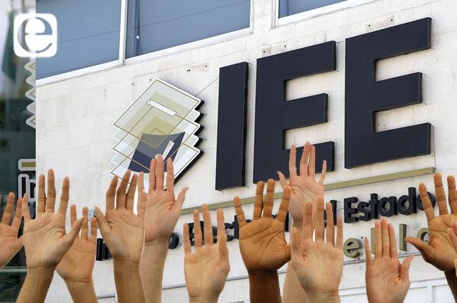 Compiten 104 personas por tres consejerías del IEE para 7 años