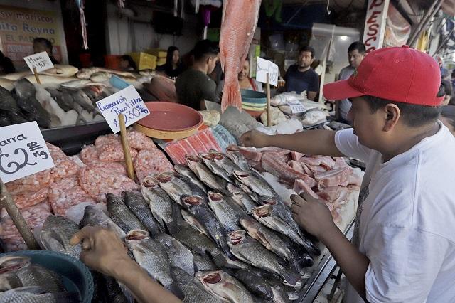Pescaderías en Puebla buscan recuperar perdidas por Covid-19