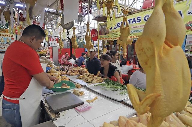 Reporta Puebla capital inflación de 3.49% en 15 días de mayo