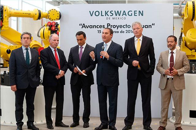 Comprará Puebla 200 autos más a VW para nuevas patrullas