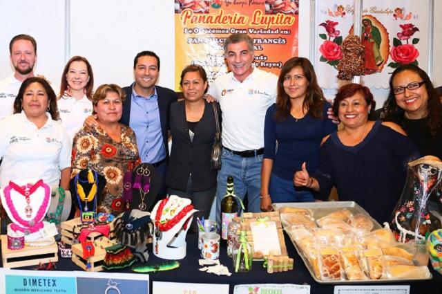 Empresas del programa Yo Compro Poblano, registran marcas en IMPI