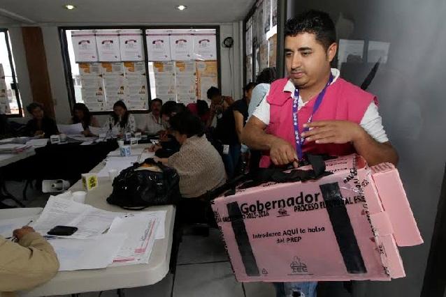 Partidos acusan anomalías en cómputos distritales de Puebla