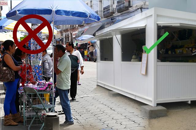 Autorizó comuna capitalina 1, 437 puestos de comercio informal