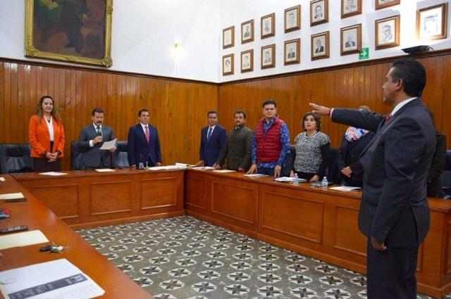 Se consuma cambio en la tesorería de San Pedro Cholula