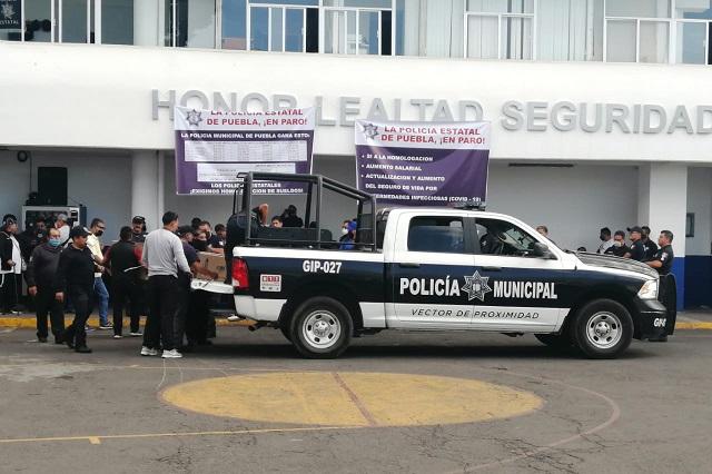Acusa gobierno al ayuntamiento de patrocinar paro de policías