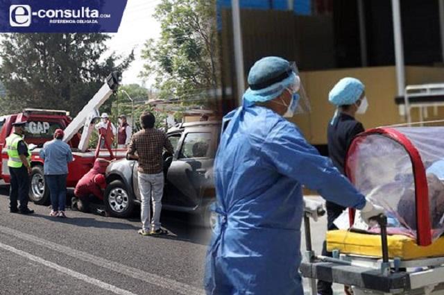 Crecen hasta 1,300% contagios pese al Hoy no Circula en Puebla