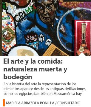 El arte y la comida: naturaleza muerta y bodegón