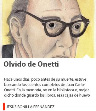 Olvido de Onetti