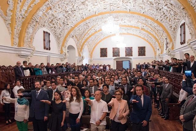 Toma protesta nuevo Consejo Universitario BUAP 2019-2021
