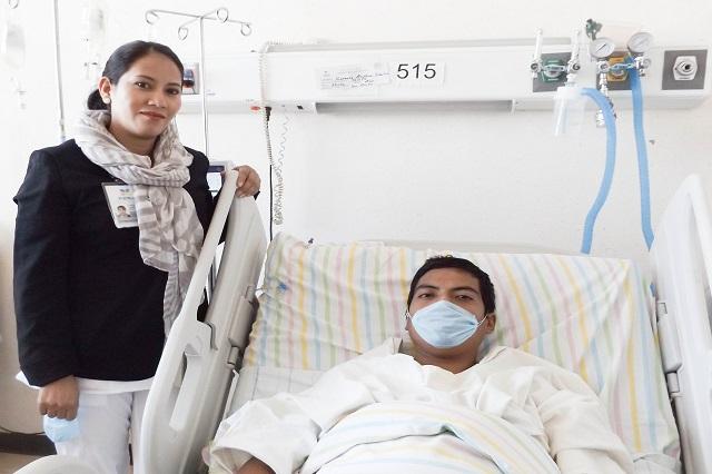Realizan en el ISSSTEP trasplante de riñón con éxito