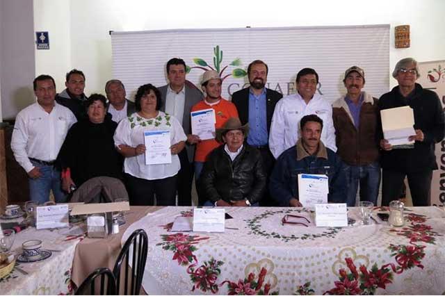 Reconoce Conafor innovación en seis empresas poblanas