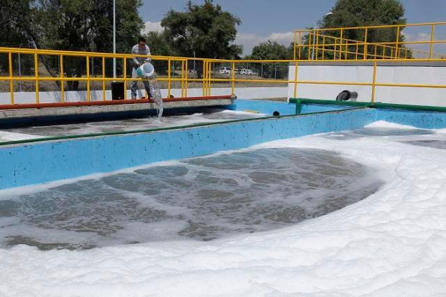 Rechazan en Juan C. Bonilla desagües textiles de Huejotzingo