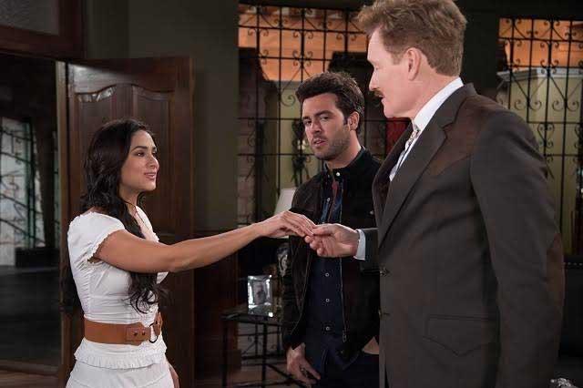 Conan O'Brien graba escena especial en telenovela de Televisa