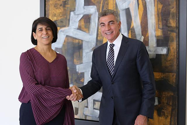 El gobernador Gali se reúne con la titular de la CONAVIM