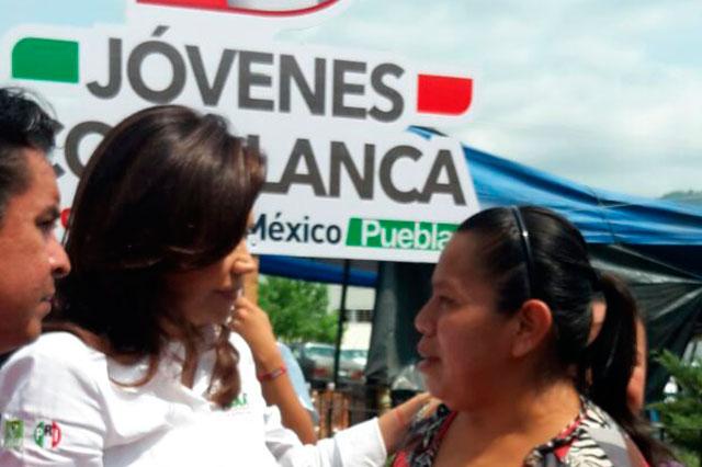 No más inseguridad en la Sierra Norte: Blanca Alcalá