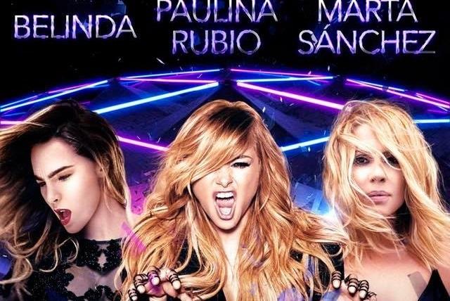 Belinda, Paulina Rubio y Marta Sánchez se unirán en concierto