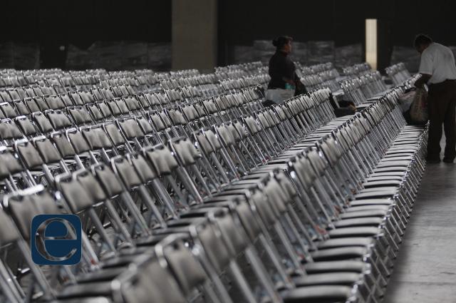Expositores en Puebla esperan que mejoren condiciones sanitarias