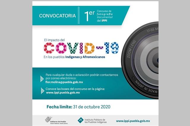 Abre concurso de fotografía Instituto Poblano de los Pueblos Indígenas