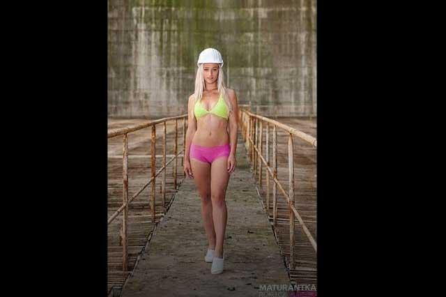 Tachan de sexista y degradante concurso de belleza en planta nuclear