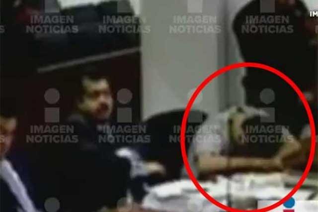 Durante audiencia, conductor del BMW se quedó dormido