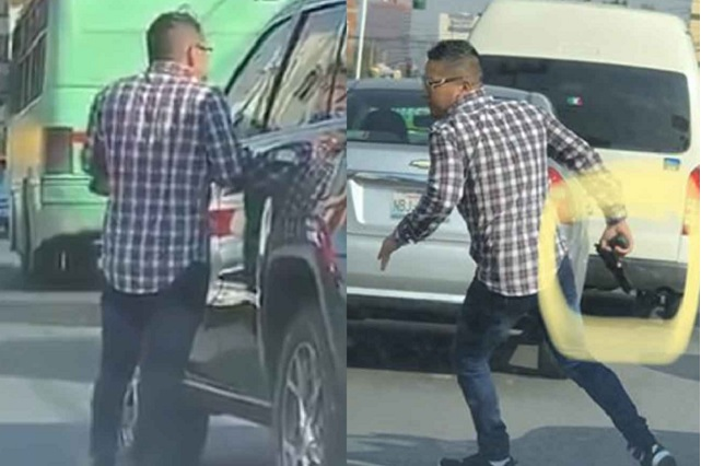 Video: intenta asaltar a un conductor; mira cómo termina