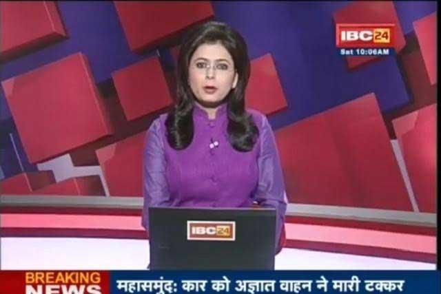 Conductora de TV informa y se entera de la muerte de su esposo al aire