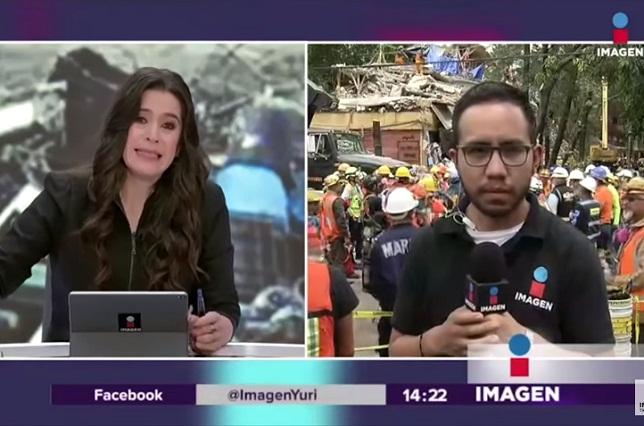 De luto: Muere esposa de trabajador de Imagen Televisión por sismo