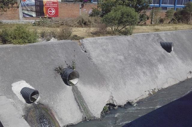 Estudio de BUAP con drones detecta descargas residuales en el Atoyac