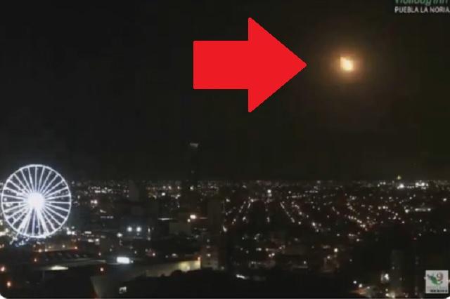 Confirman que sí fue un meteorito el objeto luminoso avistado en México