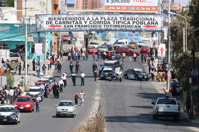 Totimehuacán debe ser municipio por su número de habitantes: edil