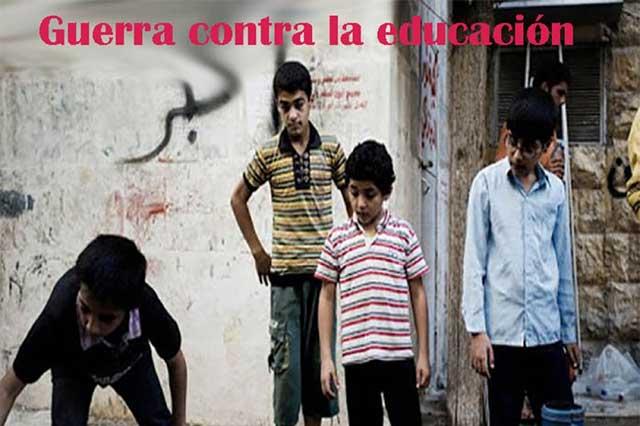 Niños que viven en zonas de conflicto ponen en peligro su futuro